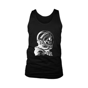 Skull Astronaut Men's Tank Top - Nuu Shirtz