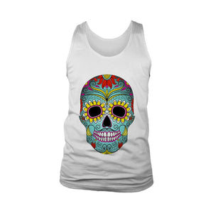 Skull Day Of The Dead Men's Tank Top - Nuu Shirtz