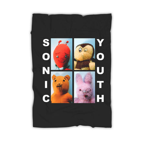 Sonic Youth Dirty Dolls Blanket