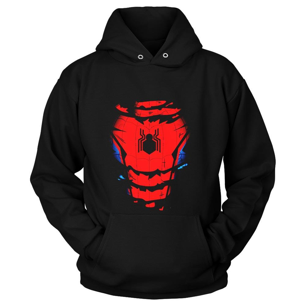Spiderman Suit Far From Home Unisex Hoodie