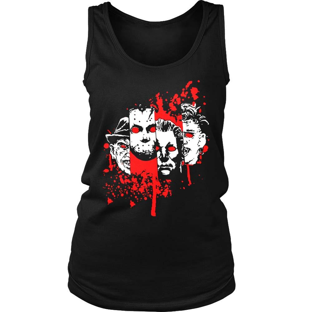 Squad Goals Halloween Horror Women's Tank Top