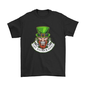 St Patrick Day Scary Logo Men's T-Shirt
