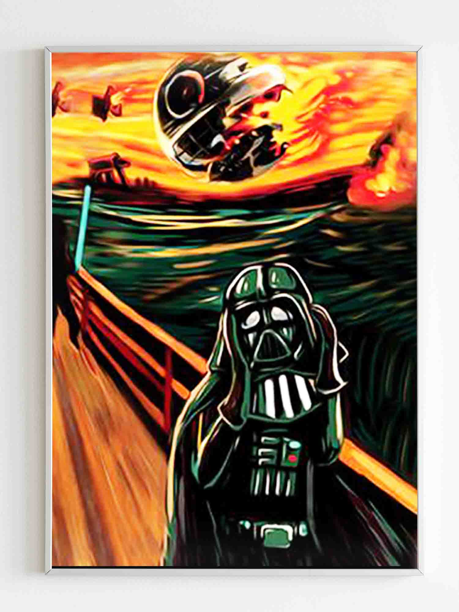 Star Wars Darth Vader Scream Poster