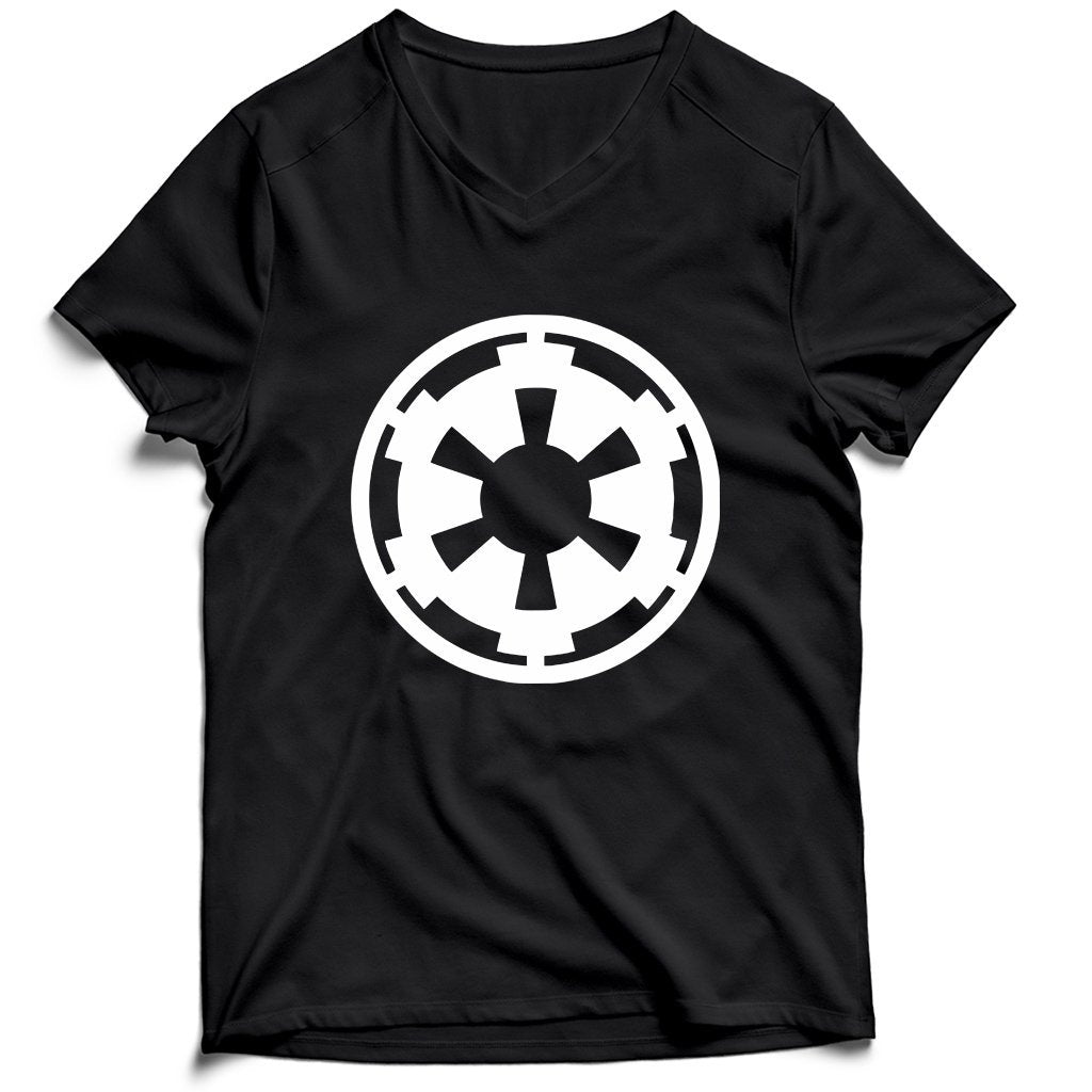 Star Wars Empire Logo Men's V-Neck Tee T-Shirt