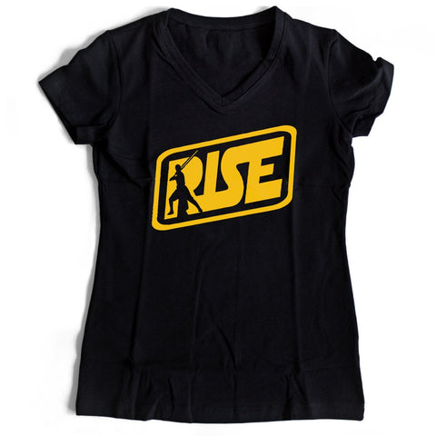 Star Wars Rise Women's V-Neck Tee T-Shirt - Nuu Shirtz