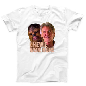 Star Wars The Force Awakens Chewie Were Home Han Solo Men's T-Shirt - Nuu Shirtz