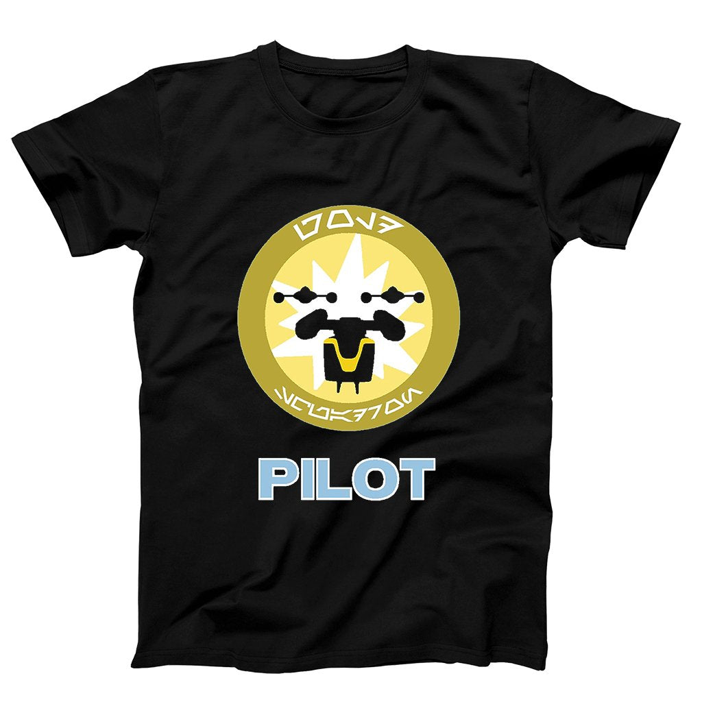 Star Wars Veteran Gold Squadron Pilot Men's T-Shirt - Nuu Shirtz
