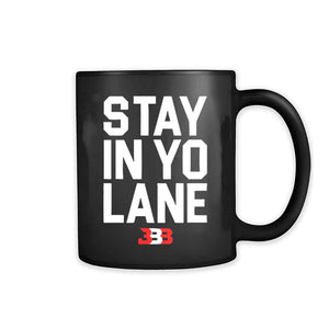 Stay In Yo Lane Bbb Lakers 11oz Mug - Nuu Shirtz