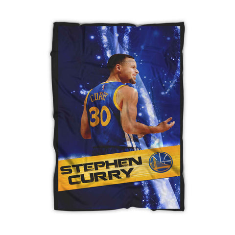 Stephen Curry 30 Poster Blanket
