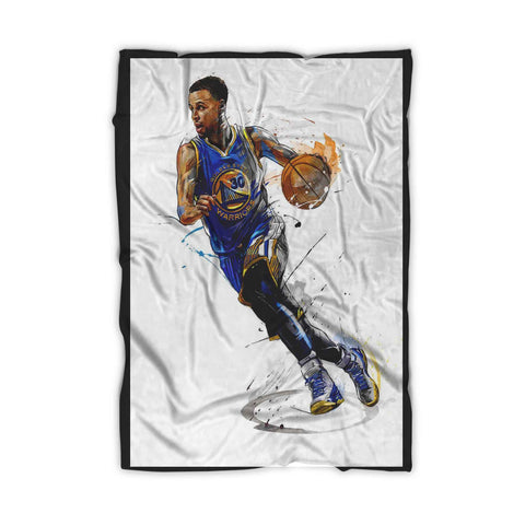 Stephen Curry Art Poster Blanket