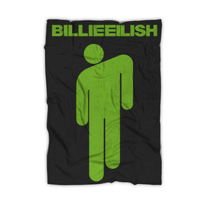Stickman Billie Eilish Blanket - Nuu Shirtz
