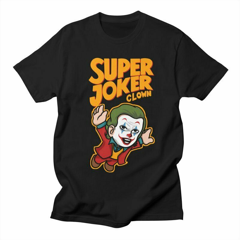 Super Joker Clown Super Smash Mario Game Men's T-Shirt - Nuu Shirtz