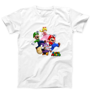 Super Mario Bros Run Men's T-Shirt - Nuu Shirtz