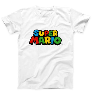 Super Mario Logo Men's T-Shirt - Nuu Shirtz