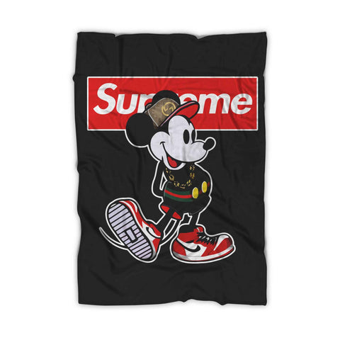 Supreme Mickey Mouse Blanket