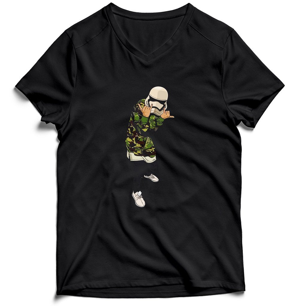 Supreme Stormtrooper Men's V-Neck Tee T-Shirt
