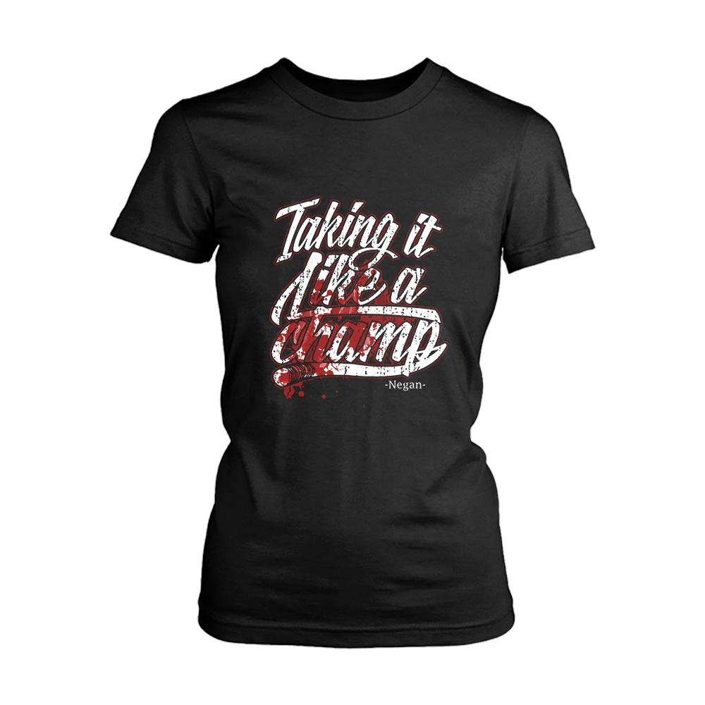Taking It Like A Champ Negan Twd Women's T-Shirt - Nuu Shirtz