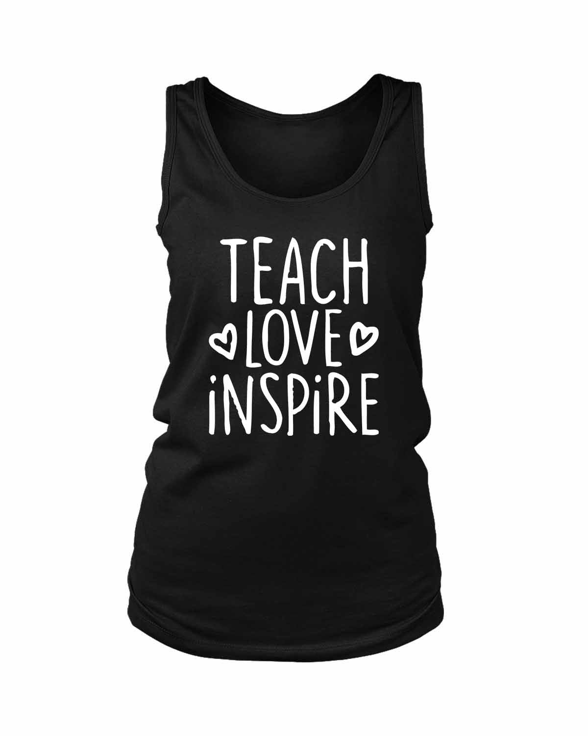 Teach Love Inspire Women's Tank Top - Nuu Shirtz