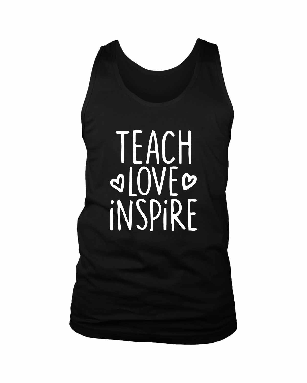 Teach Love Inspire Men's Tank Top - Nuu Shirtz
