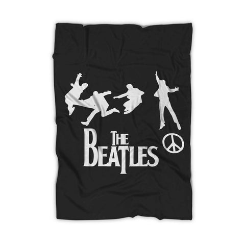 The Beatles Band Peace Blanket