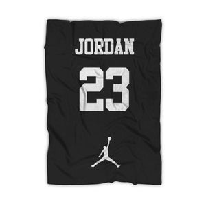 The Best Jordan Graphic Lakers Fleece Blanket - Nuu Shirtz