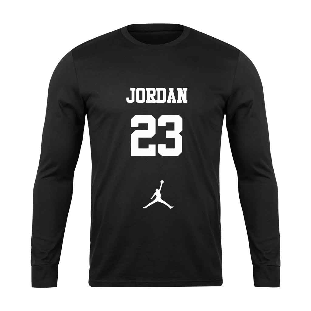 The Best Jordan Graphic Lakers Long Sleeve - Nuu Shirtz