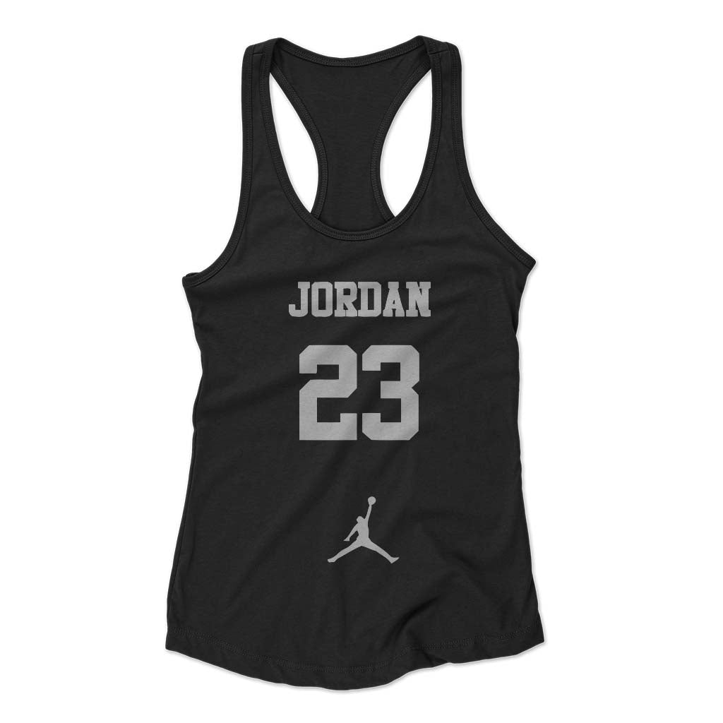 The Best Jordan Graphic Lakers Woman's Racerback Tank Top - Nuu Shirtz