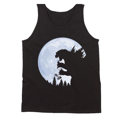 The Extra Terrestrial Og Godzilla Monster Et Men's Tank Top - Nuu Shirtz