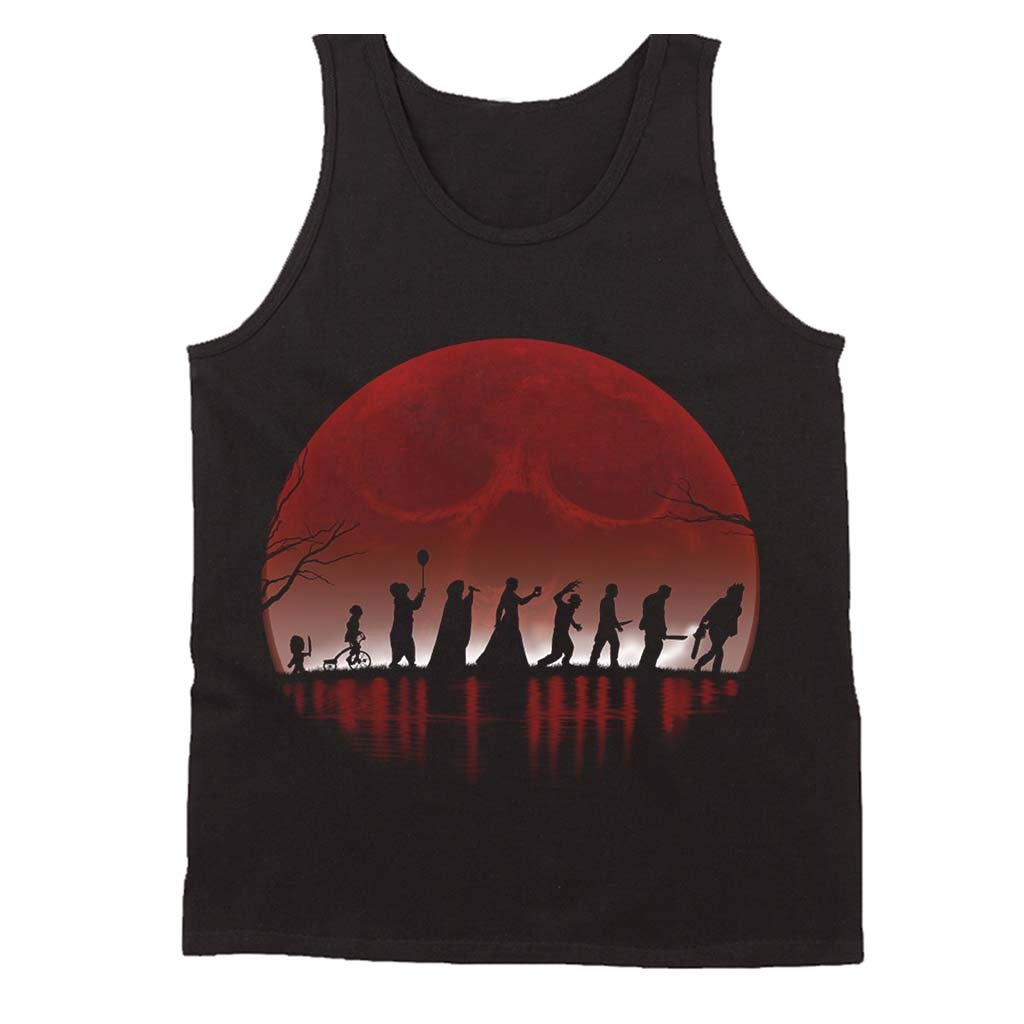 The Fellowship Of The Horror Halloween Men's Tank Top - Nuu Shirtz