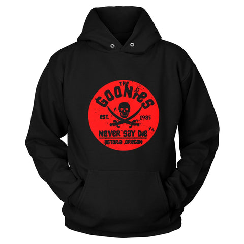 The Goonies Never Say Die Pirate Classic Unisex Hoodie - Nuu Shirtz