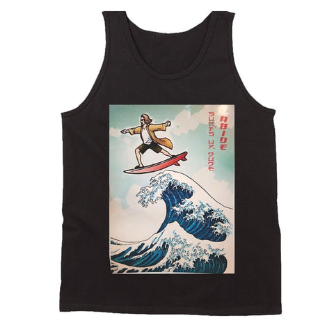The Great Wave Of The Big Lebowski Men'S Tank Top