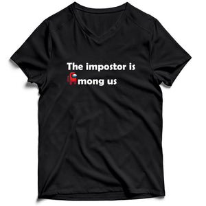 The Impostor Is Among Us Men's V-Neck Tee T-Shirt - Nuu Shirtz