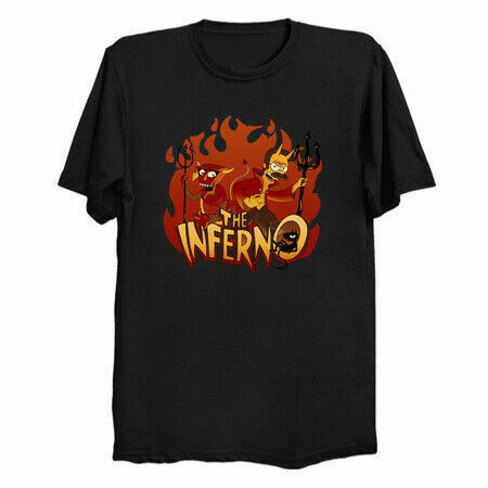 The Inferno Lucy Disenchantment Futurama Men's T-Shirt - Nuu Shirtz