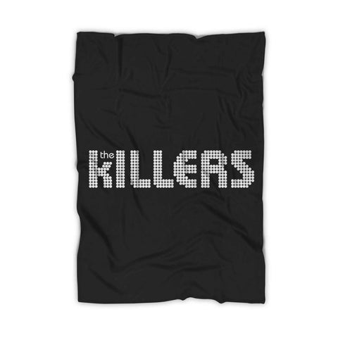 The Killers Rock Band Logo Blanket