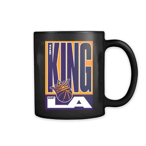 The King Oflos Angeles America Team 2020 Lakers 11oz Mug - Nuu Shirtz