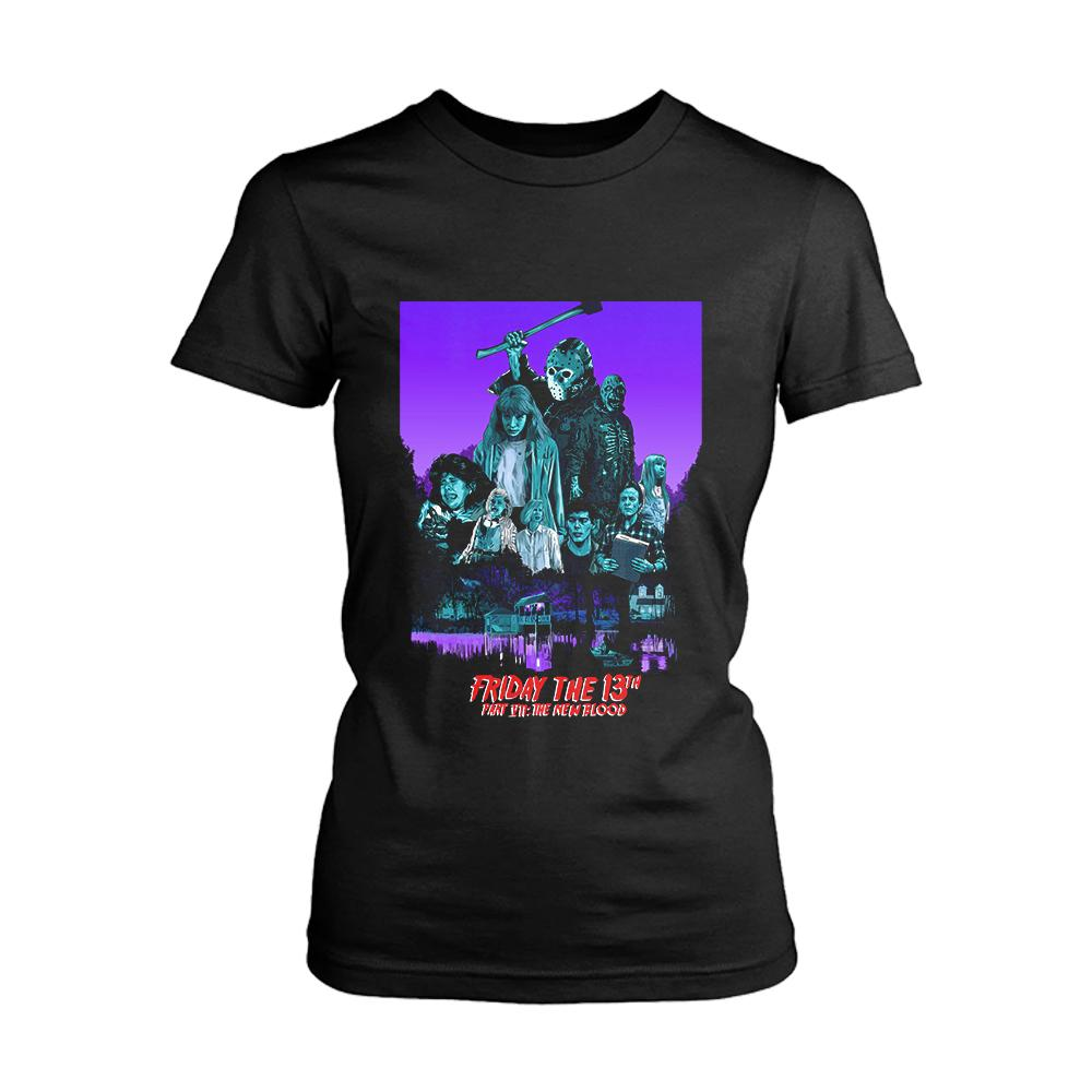 The New Blood Friday The 13th Part 7 Poster Women's T-Shirt - Nuu Shirtz