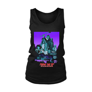 The New Blood Friday The 13th Part 7 Poster Women's Tank Top
