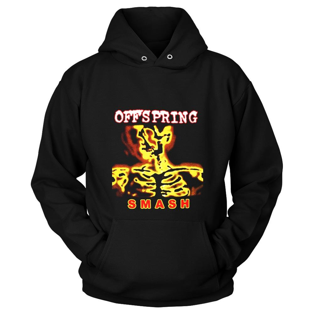 The Offspring Smash Tour Punk Rock Bad Religion Pennywise Unisex Hoodie