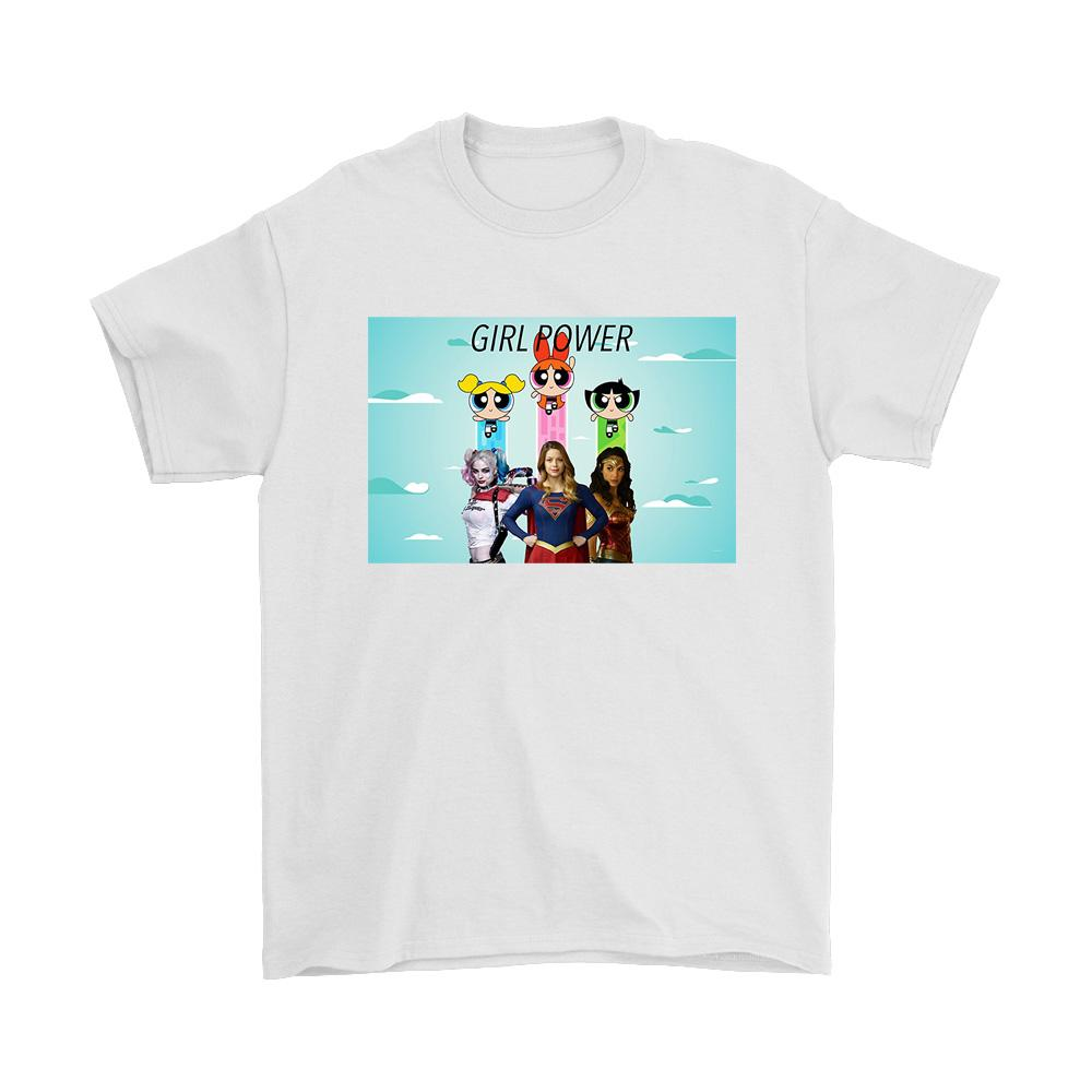 The Powerpuff Girls Of Dc Men's T-Shirt - Nuu Shirtz