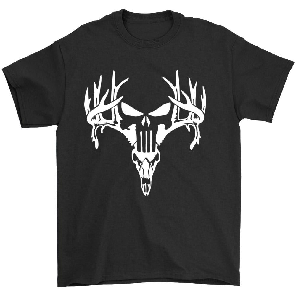 The Punisher Deer Hunting Men's T-Shirt - Nuu Shirtz