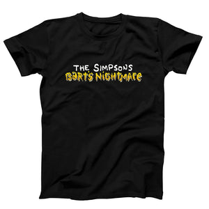The Simpson Barts Nightmare Men's T-Shirt - Nuu Shirtz