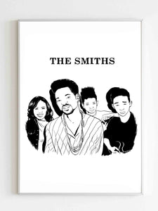 The Smiths Family Poster