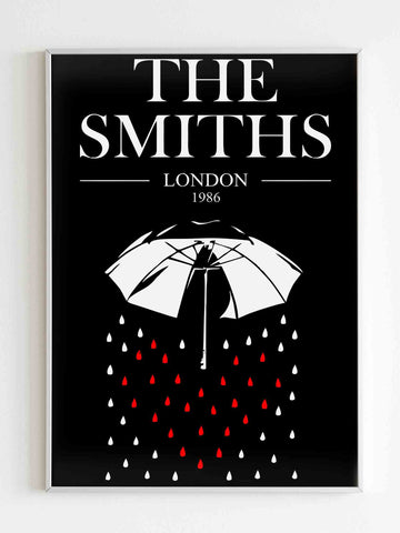 The Smiths London 1986 Poster