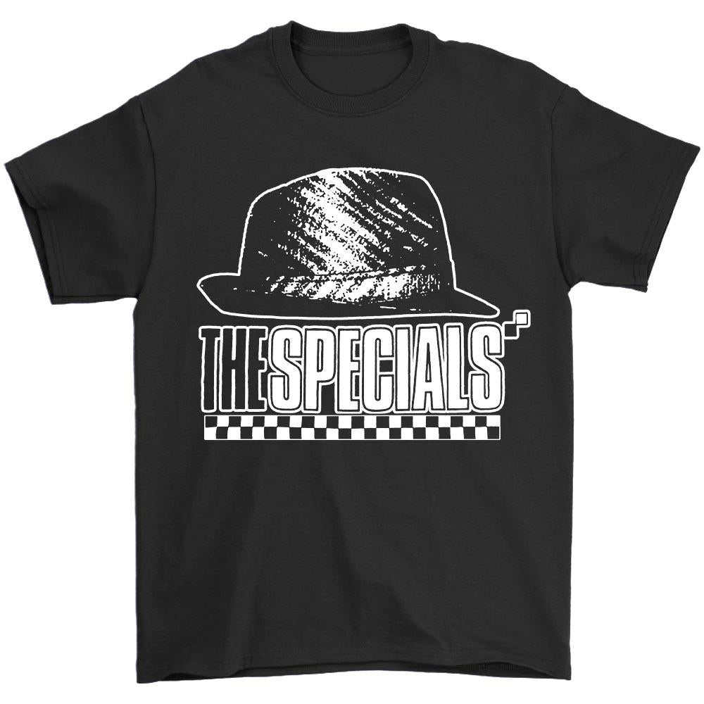The Specials Hat Mens White T Shirt Ska 2 Tone Madness The Selecter Bad Manners Men's T-Shirt - Nuu Shirtz