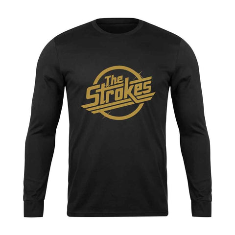 The Strokes Rock Band Logo Long Sleeve T-Shirt