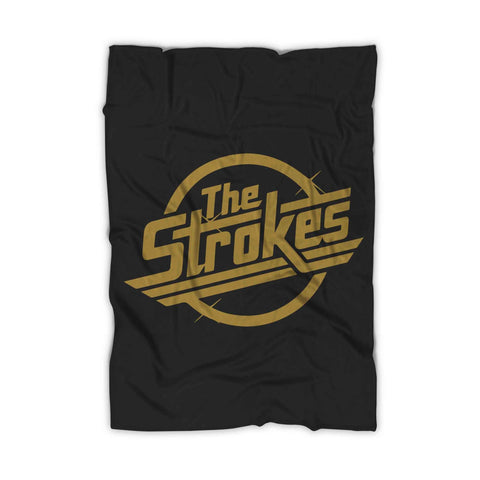 The Strokes Rock Band Logo Blanket