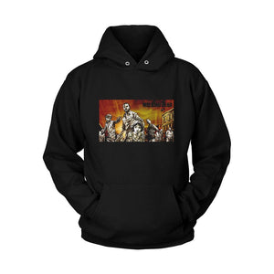The Walking Daed Art Poster Unisex Hoodie