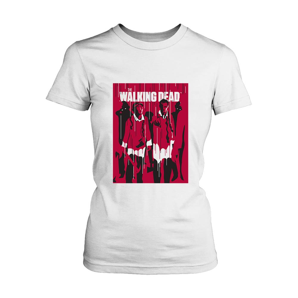 The Walking Daed Poster Women's T-Shirt - Nuu Shirtz