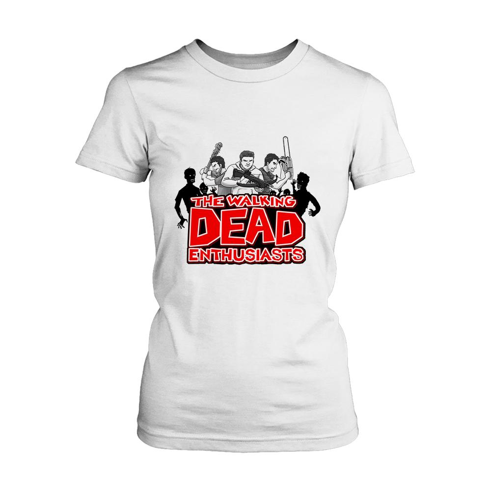 The Walking Dead Enthusiasts Women's T-Shirt