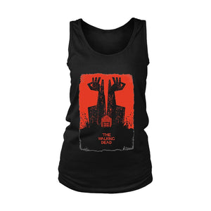 The Walking Dead Graphic Art Women's Tank Top - Nuu Shirtz